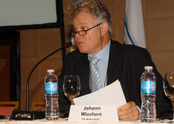 Johann Wiechers at the 26th IFSCC Congress in Buenos Aires, Argentina (2010)
